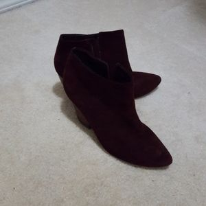 Kenneth Cole Reaction Cheese Please Maroon size 8